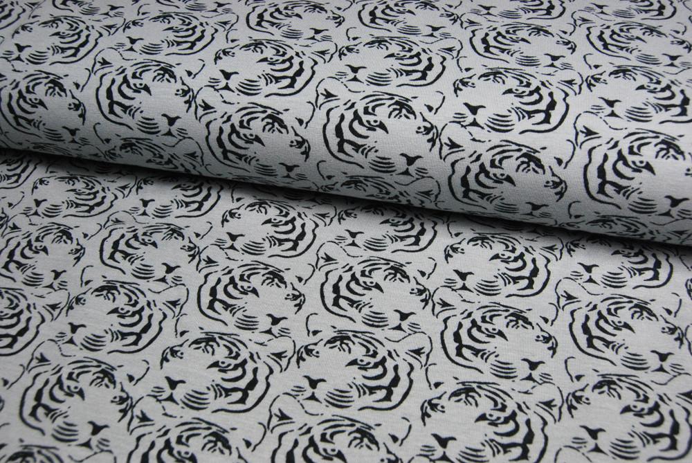 JERSEY - Tigermuster - Ilja Fabrics 0 5m