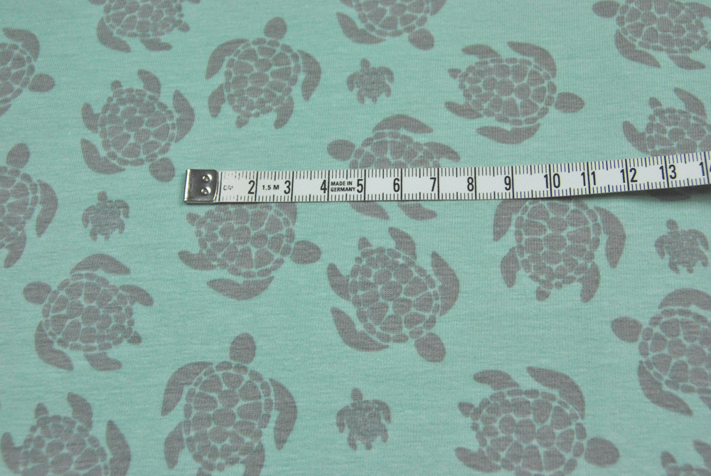 JERSEY - Schildkroeten - Ilja Fabrics 0 5m