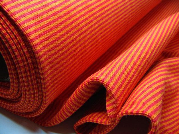 Buendchen Rot-Orange 25cm im Schlauch