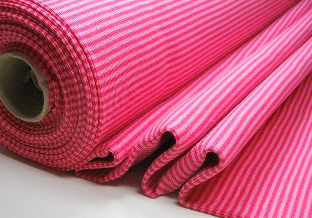 Bündchen Pink-Rosa, 25cm im Schlauch