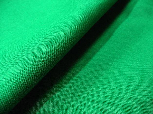 Uni Flaschengrüne Baumwolle 05 Meter