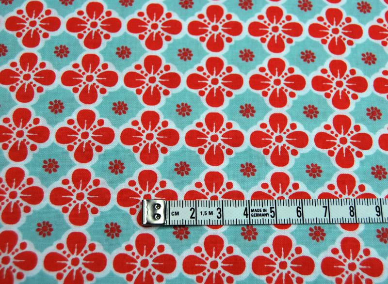 Clover in Mint - Maisie - Baumwolle - 0.5 meter - 4