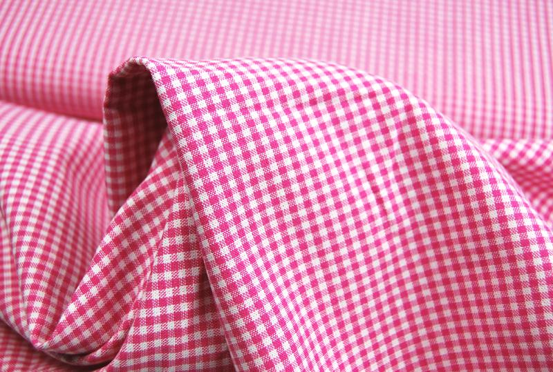 kleines Karo Pink - Baumwolle 05 - 2
