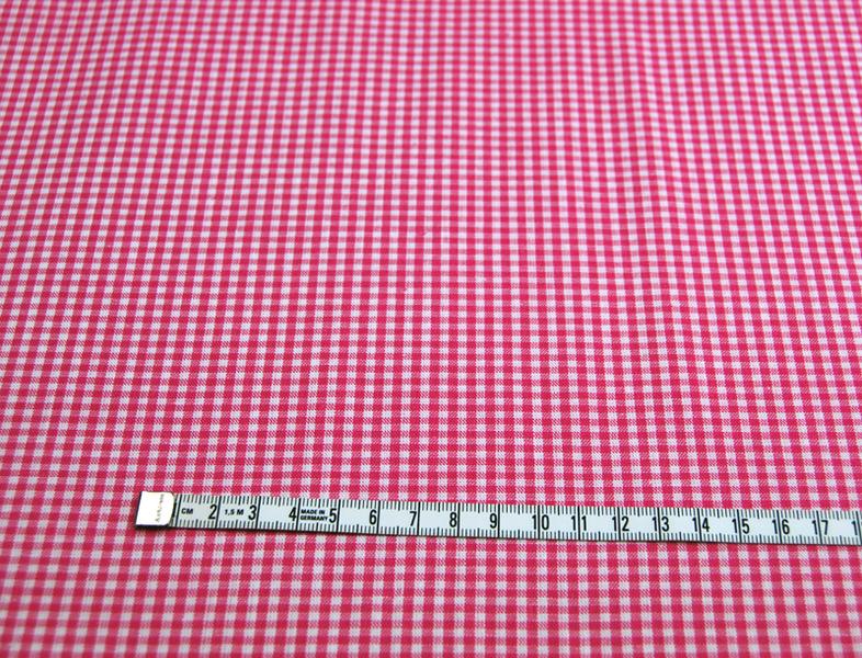kleines Karo Pink - Baumwolle 05