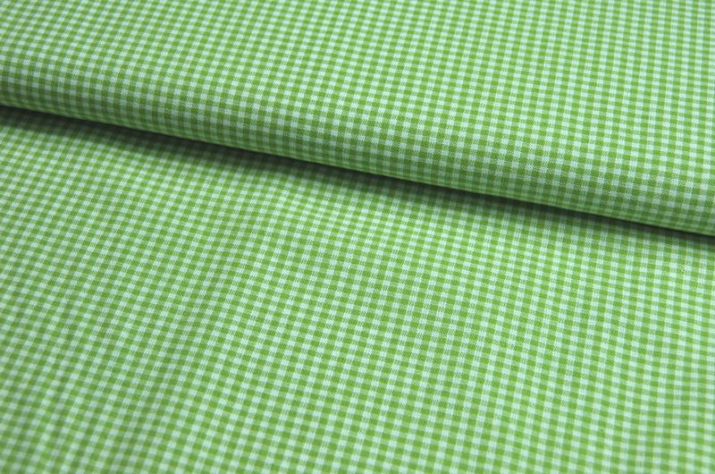kleines Karo Grün - Baumwolle 0,5 Meter