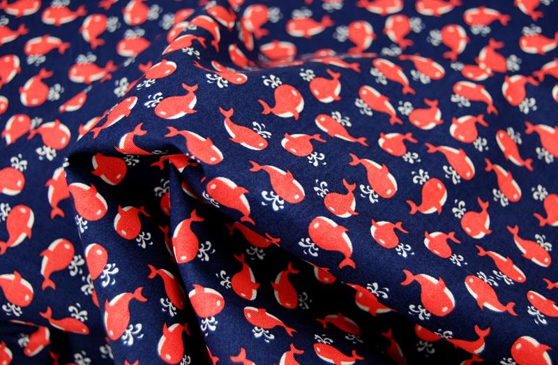 Little Whales Baumwolle von Miller 0,5 Meter