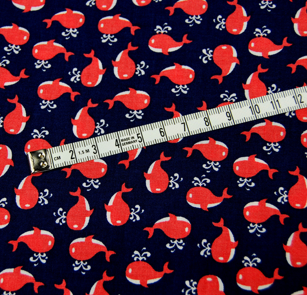 Little Whales Baumwolle von Miller Meter - 4