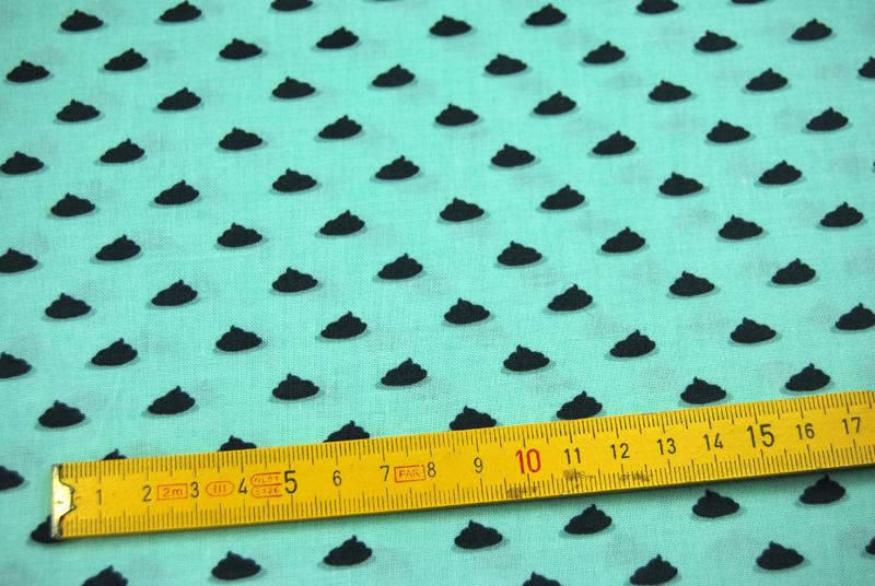 Pooh Pooh Polka Dot Baumwolle von Miller 0.5 m