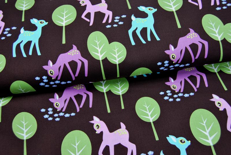 Pet Deer Baumwolle von Michael Miller