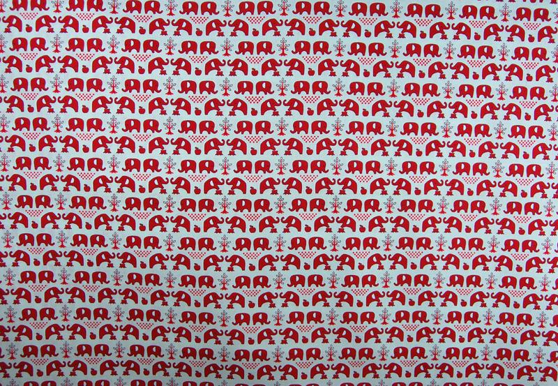 Elefanten Baumwolle von Kokka 05 Meter - 3
