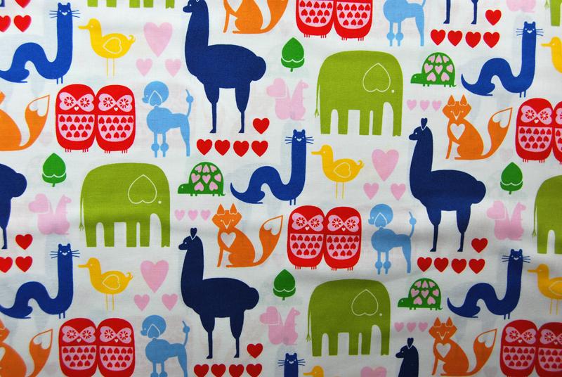 Animals Baumwolle von Henry 05