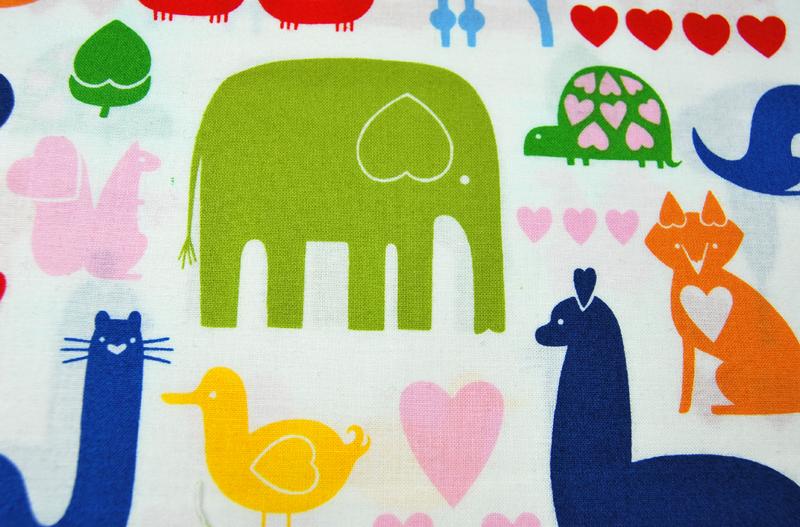 I Animals - Baumwolle von A. Henry 0.5 m