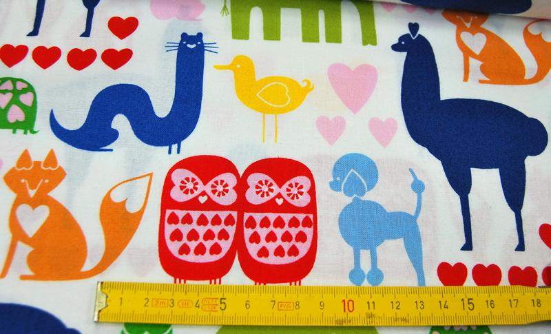 I Animals - Baumwolle von A. Henry 0.5 m - 4