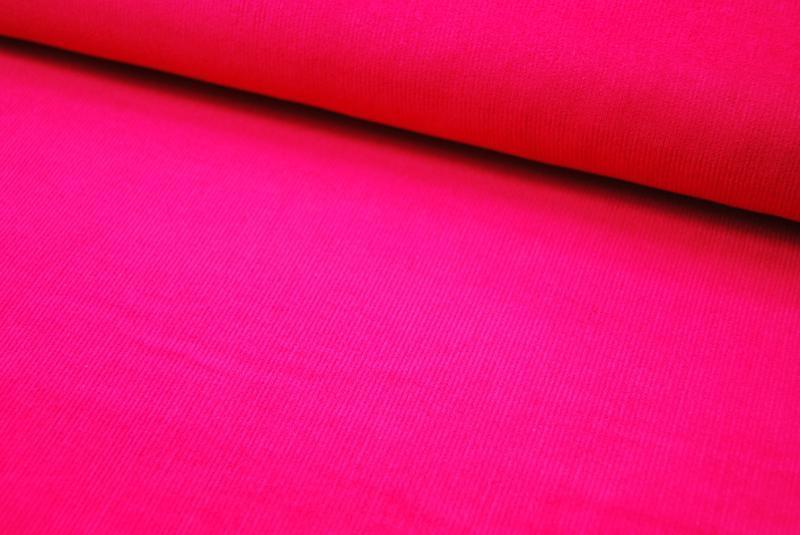 Pinker Feincord 05 Meter