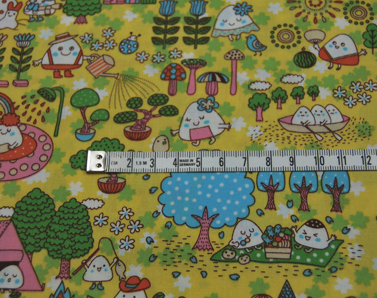 Marshmallow Family - Lustige Baumwolle 05m - 2