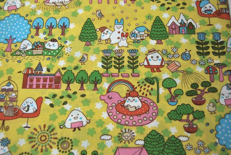 Marshmallow Family - Lustige Baumwolle 05m - 3