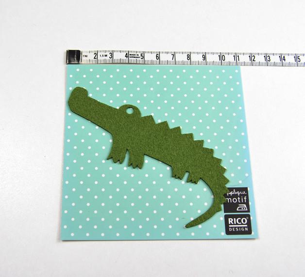 Aufbügler: Krokodil