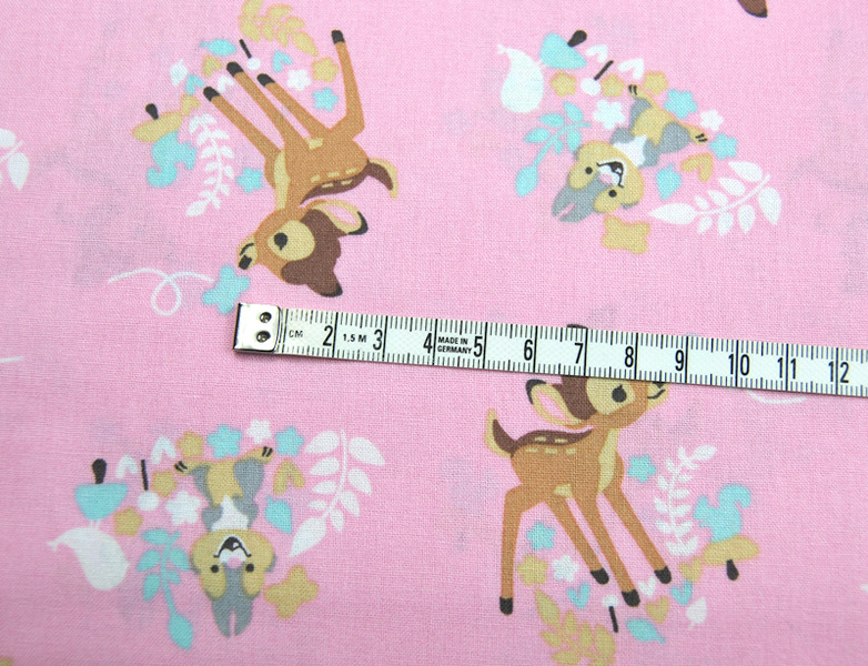 Bambi Woodland Dreams Allover Baumwolle 05m - 3