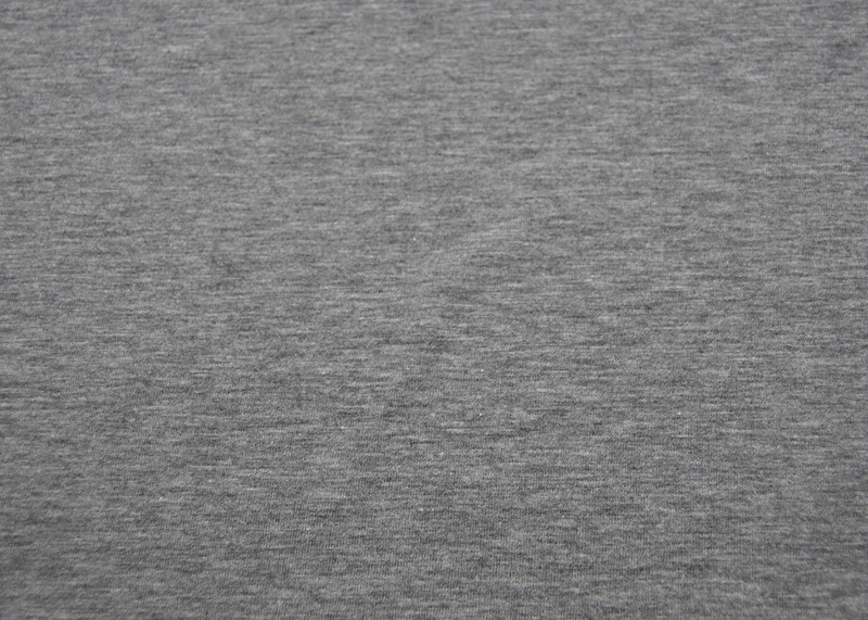 JERSEY - UNI Graumeliert - 0 5 Meter
