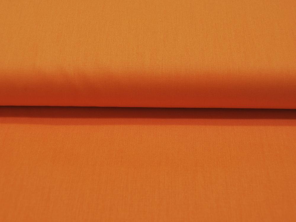 Baumwolle Uni - Orange 05