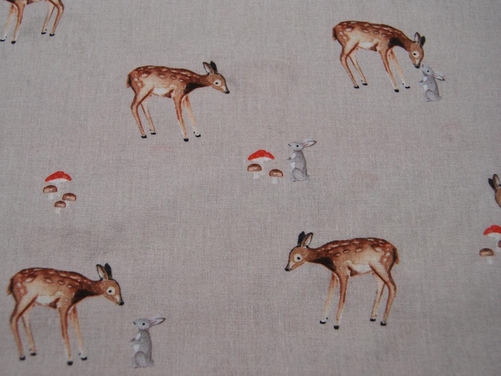 Jersey - Tukan, Papagei, Flamingo, Kaktus usw auf Hellgrün - 0,5 Meter - 2