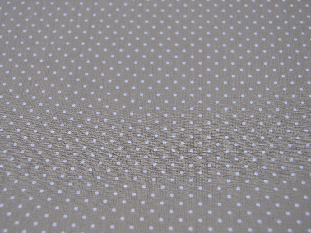 Petit Dots auf Sand - Baumwolle
