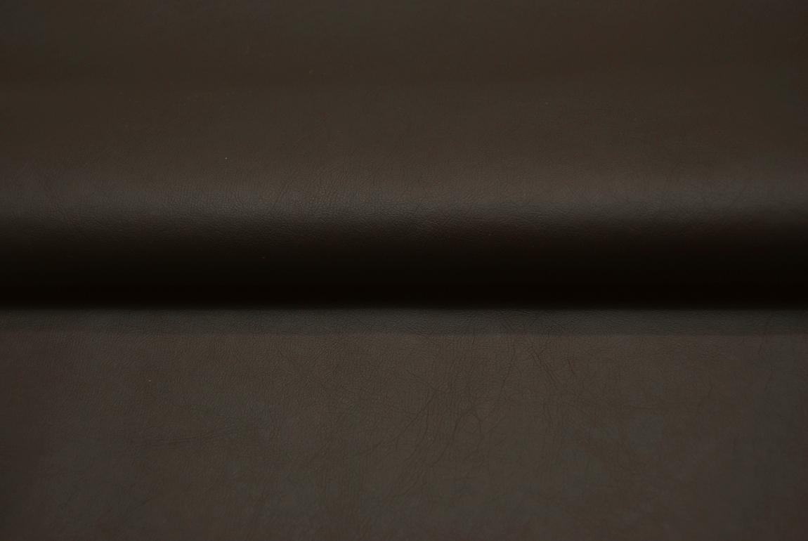 Weiches Kunstleder in Schokobraun - 0,5 Meter