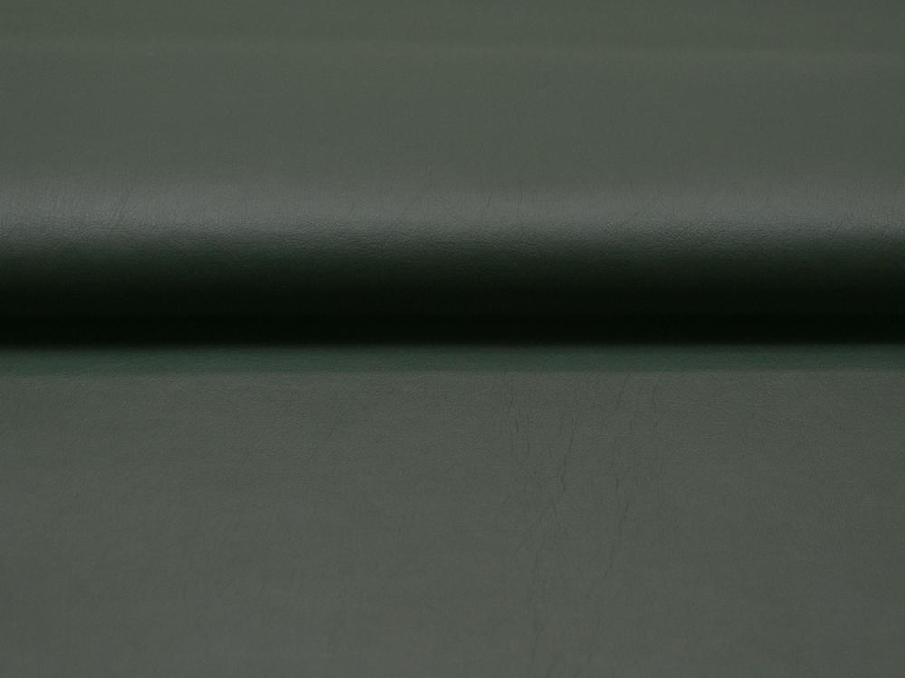 Weiches Kunstleder in Dunkelgrün - 0,5 Meter - 1