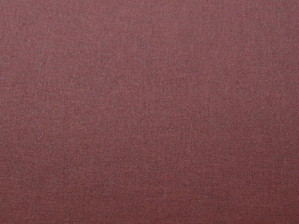 Beschichtete Baumwolle - Mattes Bordeaux Uni - 50 x 75 cm - 2
