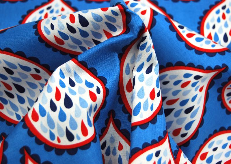 True Blue - maritime Baumwolle -