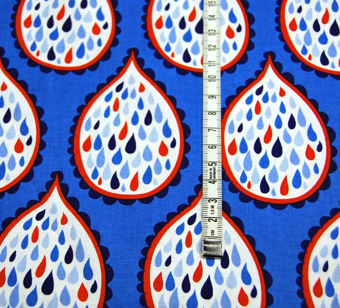 True Blue - maritime Baumwolle - 0.5Meter