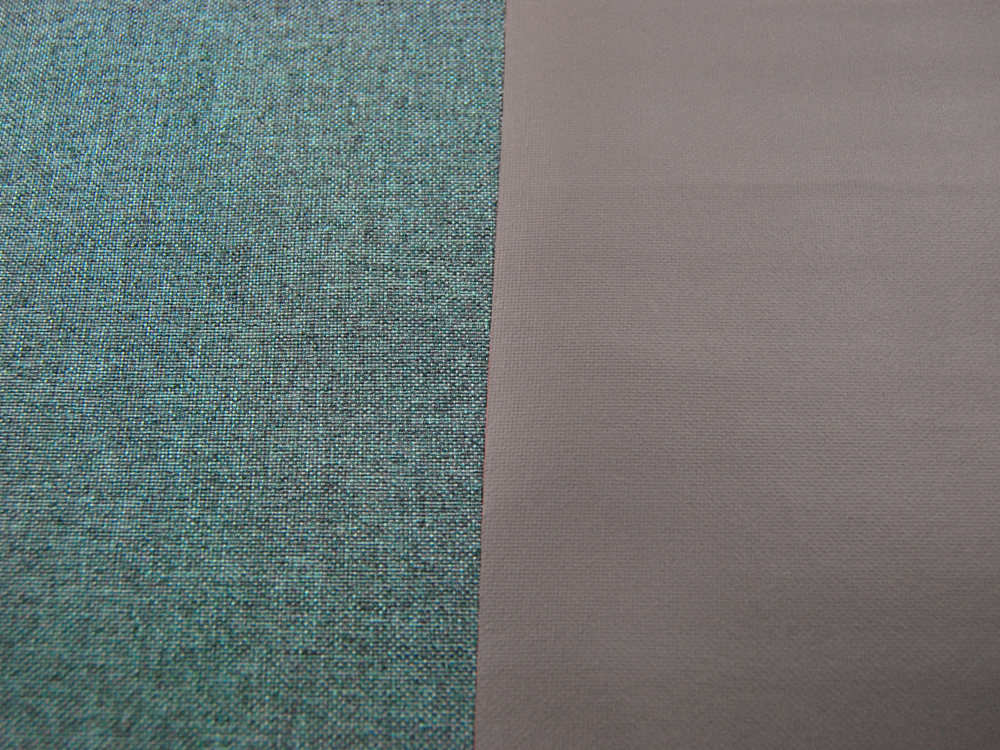 Canvas BESCHICHTET - Türkismeliert - 50 x 74 cm - 2