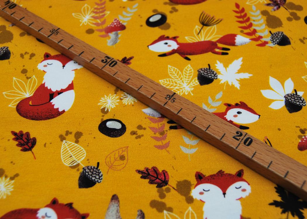Jersey My little Foxy Füchse Blätter