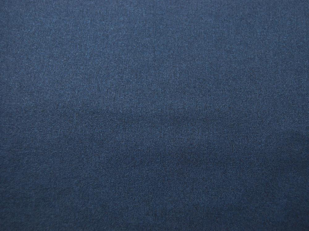 Beschichtete Baumwolle - Dunkelblau Uni -