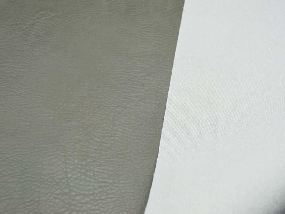 Kunstleder Vintage Leather in Khaki Meter