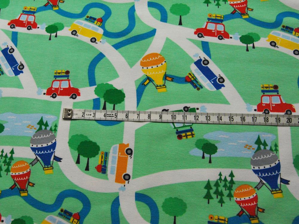 Jersey - Reiseverkehr auf Mintgrün- 05 - 3