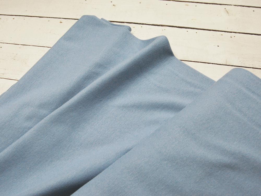 Leichtes Bündchen - Hellblau - 50 cm im Schlauch - 1