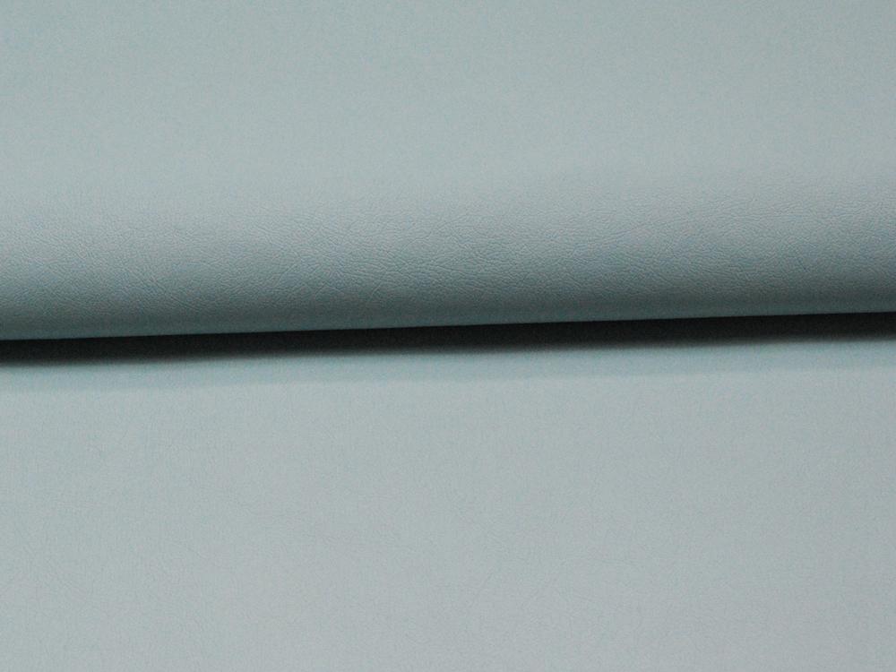 Weiches Kunstleder in Hellblau - 0,5 Meter - 1