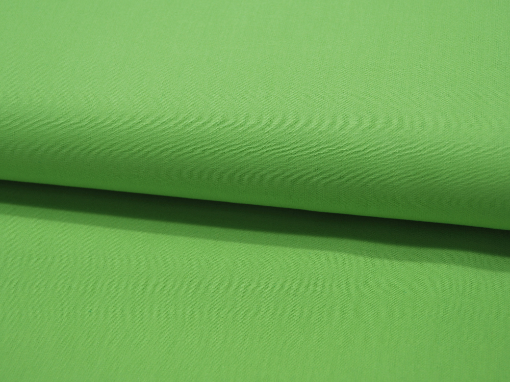 Baumwolle Uni - Limette 05
