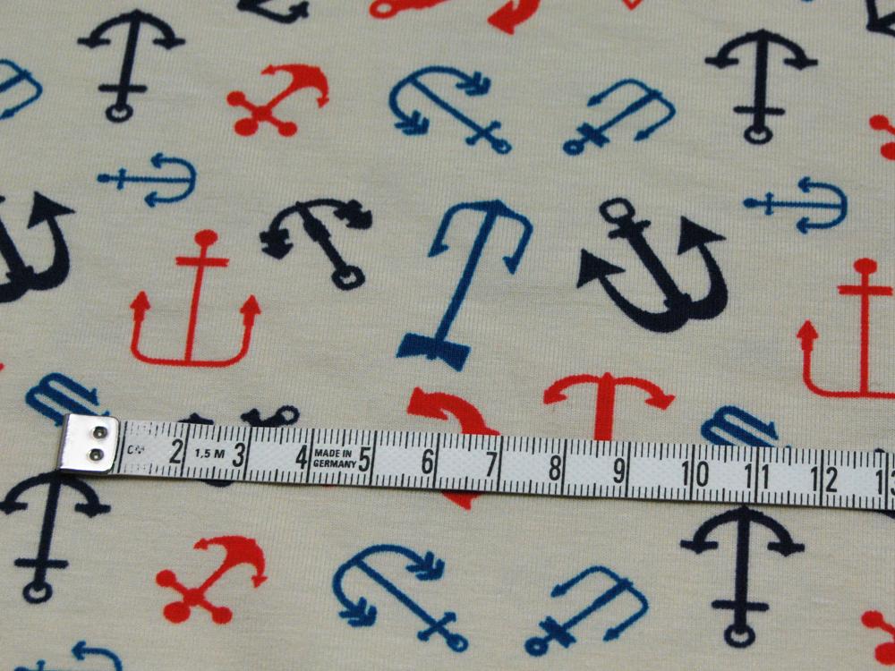 Jersey - verschiedene Anker auf Sand - 0,5m