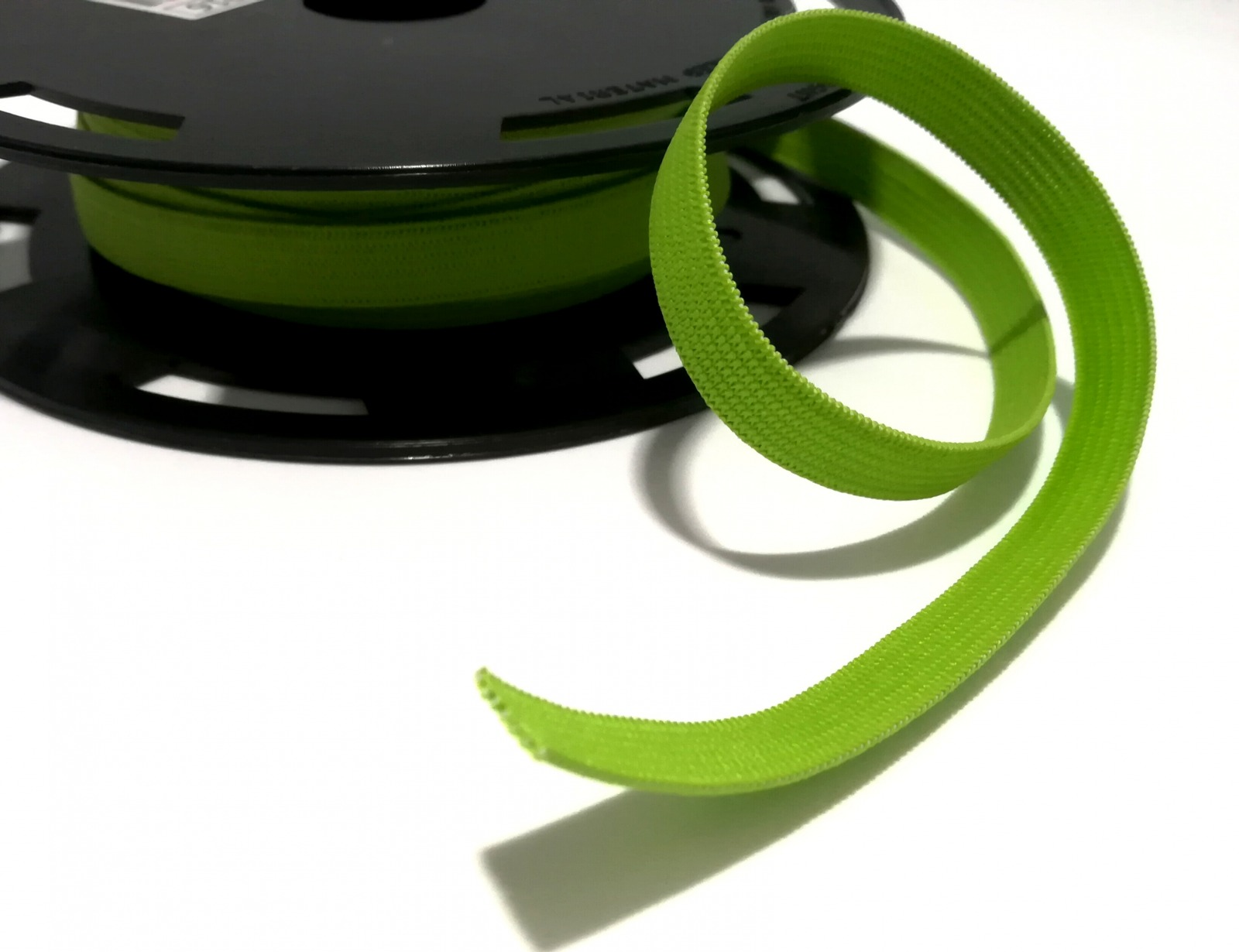 Flachgummi 1cm breit hellgrün