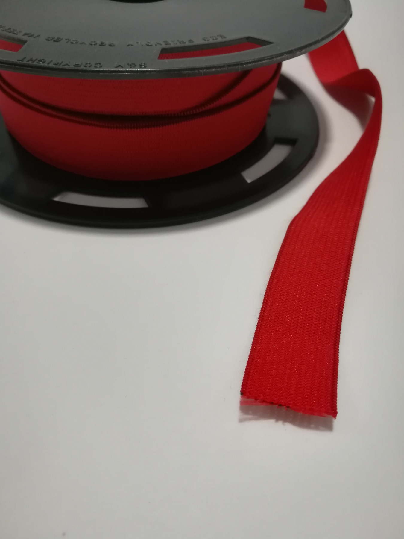 Flachgummi 2cm breit rot