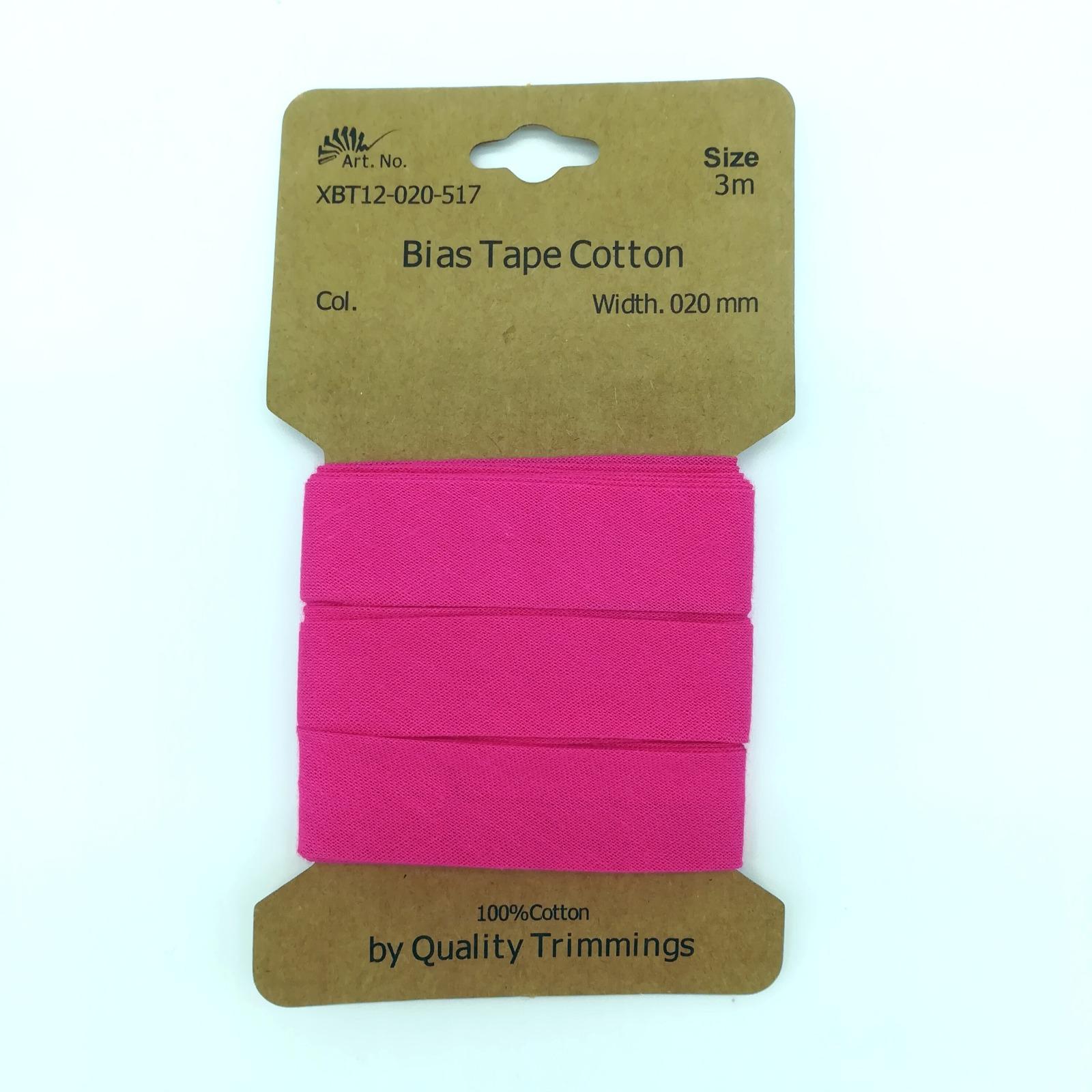 3m Schrägband in Pink