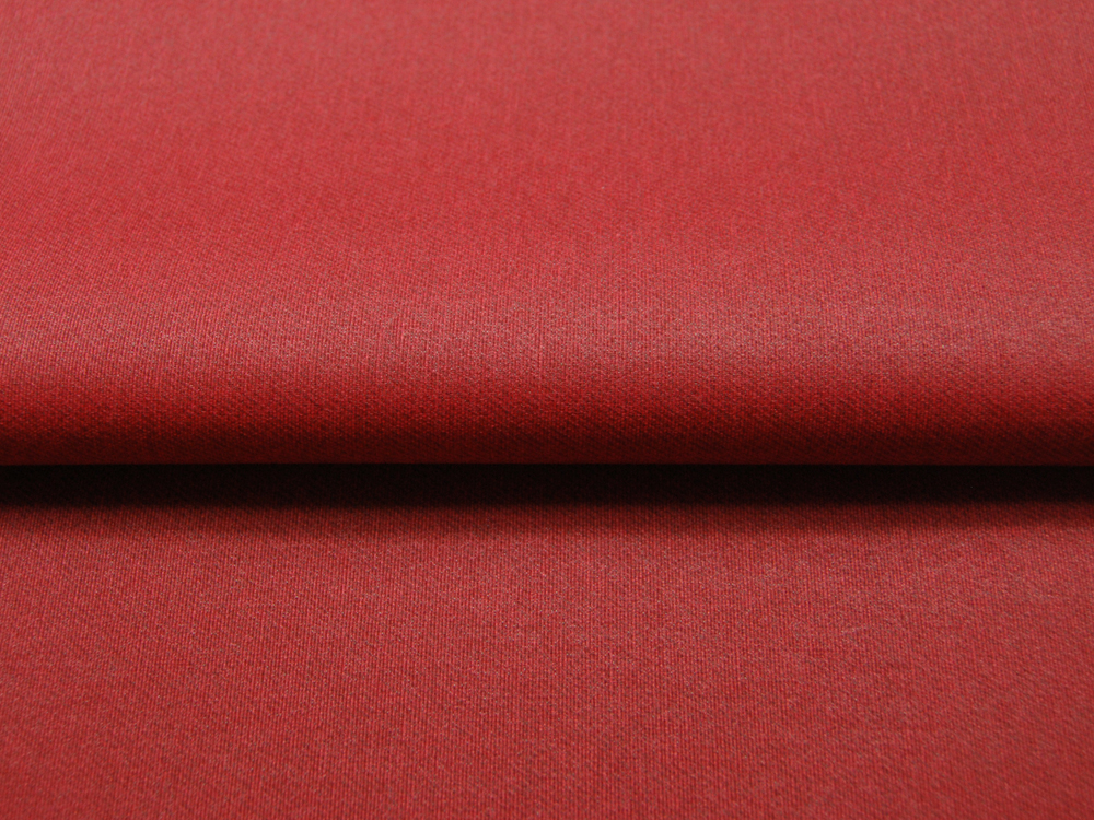 Beschichtete Baumwolle - Meliert Rot 50x70 cm - 1
