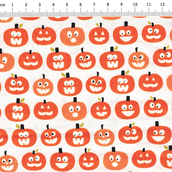 Halloween Magic - Kuerbise - Baumwolle - 0 5m