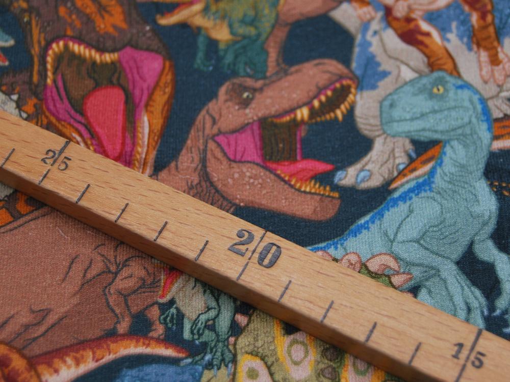 French Terry Digital JURASSIC WORLD Dinosaurier