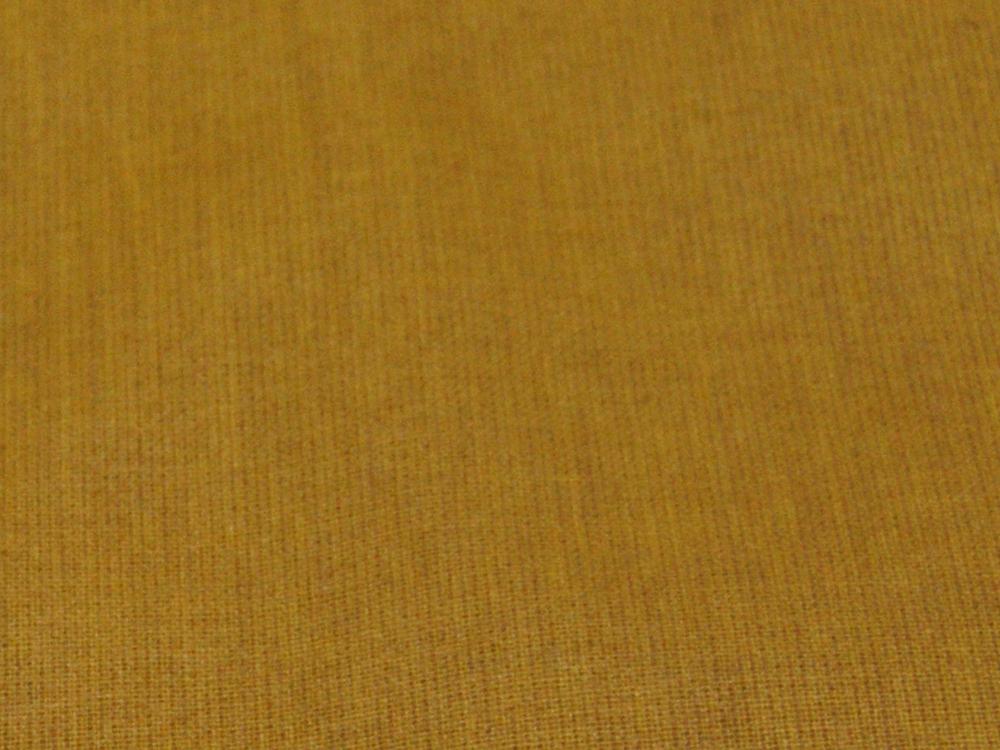 Beschichtete Baumwolle - Uni Senf -