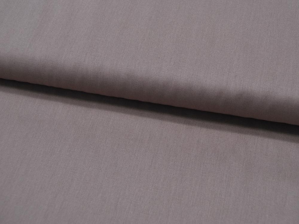 Baumwolle Uni - Taupe 05