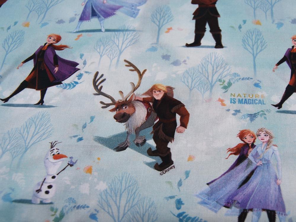 Baumwolle Frozen Die Eiskönigin Nature is