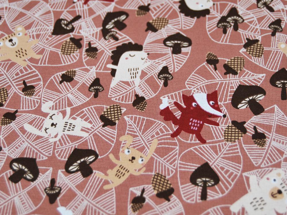 Jersey Autumn Animals auf Terracotta Meter